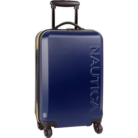 "NAUTICA-NAUTICA 24"" Hardside Expandable Spinner Luggage-bags-packs.com"