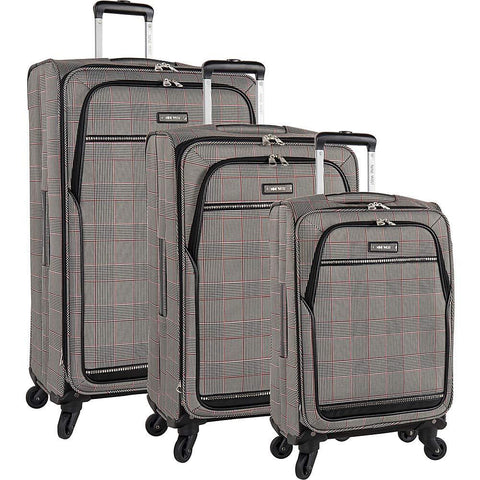 Nine West-Nine West Luggage Girls Trip 3 Piece Expandable Spinner Luggage Set-bags-packs.com