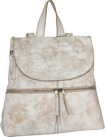 Nino Bossi-Nino Bossi Eilish Back Pack (Winter White)-bags-packs.com