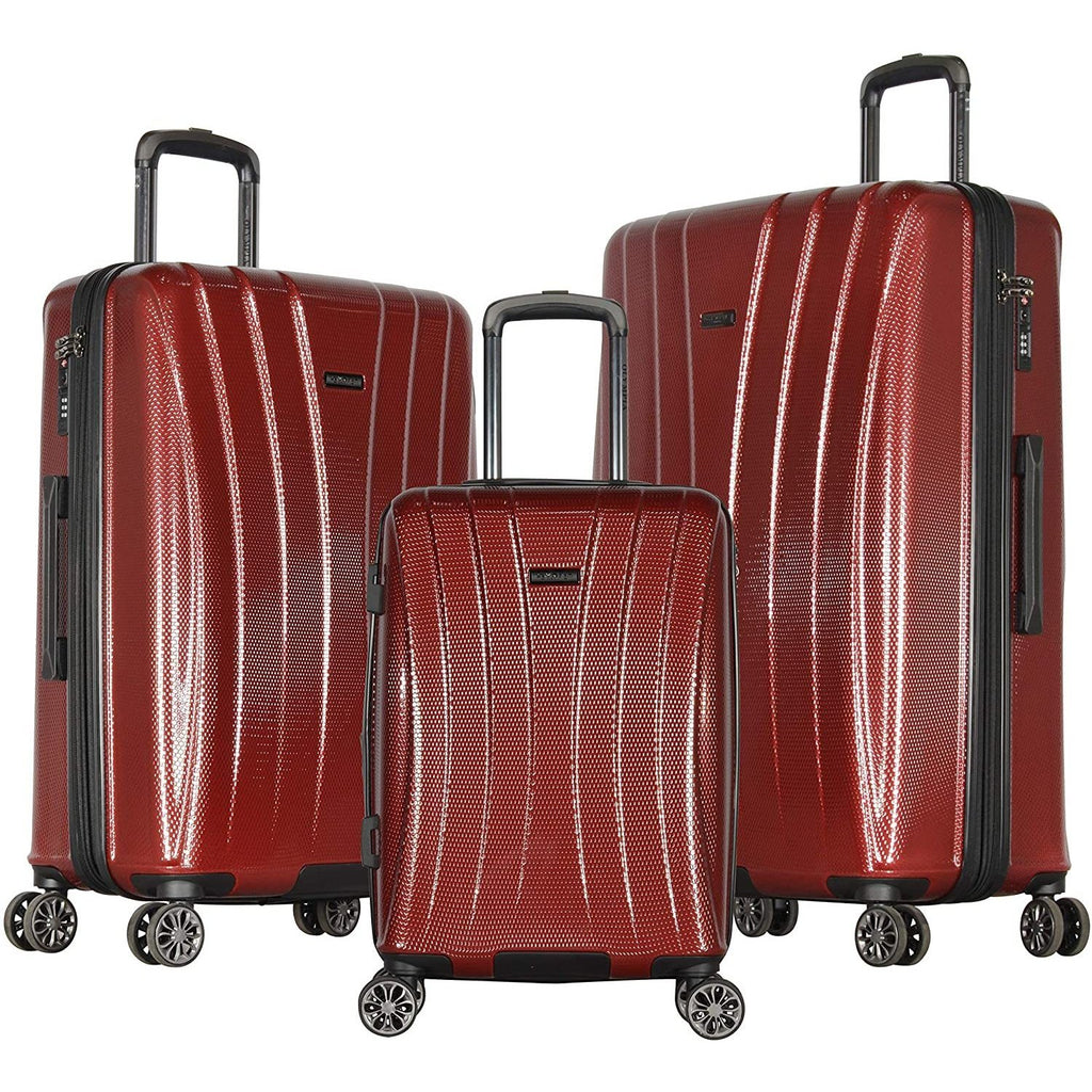 Olympia-Olympia Athena 3-Piece Hardcase Spinner Set-bags-packs.com