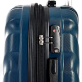 "Olympia-Olympia USA Vortex 29"" Expandable Hardside Checked Spinner Luggage (Icy Blue)-bags-packs.com"