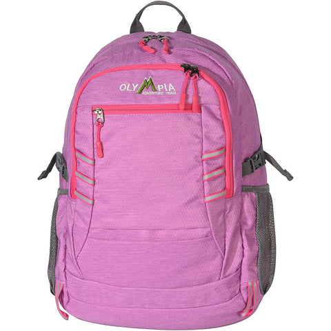 "Olympia-Olympia USA Woodsman 19"" Outdoor Backpack (25l), Purple+Pink, One Size-bags-packs.com"