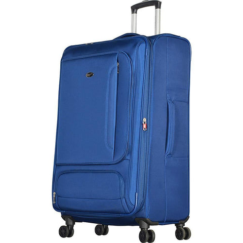 "Olympia USA-Olympia USA Petra 32"" Expandable Checked Spinner Luggage-bags-packs.com"
