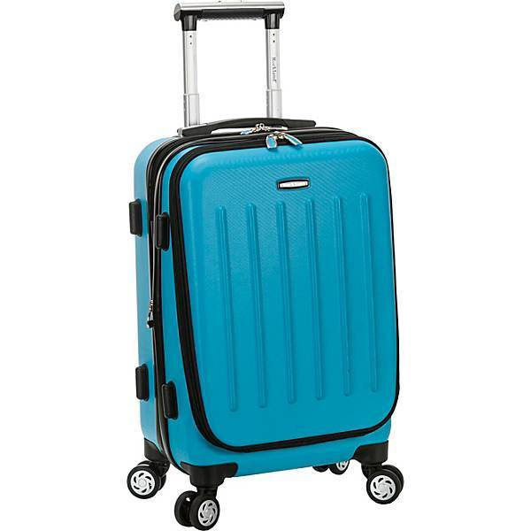 "ROCKLAND LUGGAGE-ROCKLAND LUGGAGE Titan 19"" Polycarbonate Spinner Carry On-bags-packs.com"
