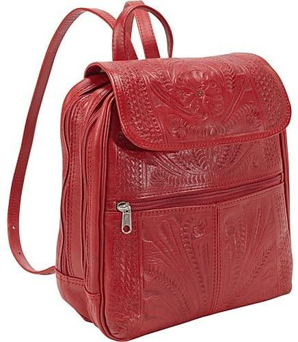 Ropin West-Hand Tooled Backpacks-bags-packs.com