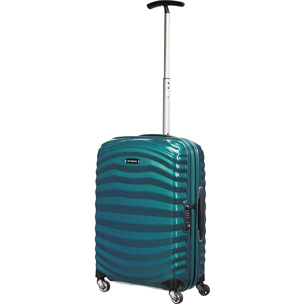 Samsonite-Samsonite Black Label Lite Shock 20 Inch Carry-On Hardside Spinner (Petrol Blue)-bags-packs.com