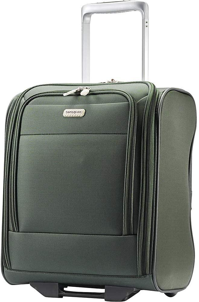 Samsonite-Samsonite Eco Rev Wheeled Underseat Carry-On (Cactus/Camo Green)-bags-packs.com