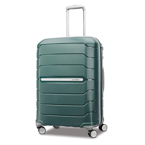"SAMSONITE-SAMSONITE Freeform 24"" Expandable Hardside Luggage with Double Spinner Wheels-bags-packs.com"