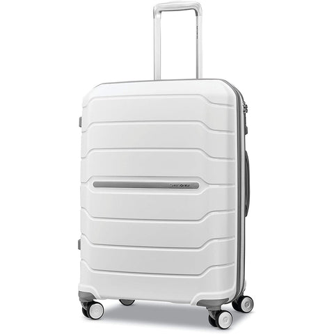 Samsonite-Samsonite Freeform Expandable Hardside Luggage with Double Spinner Wheels-bags-packs.com