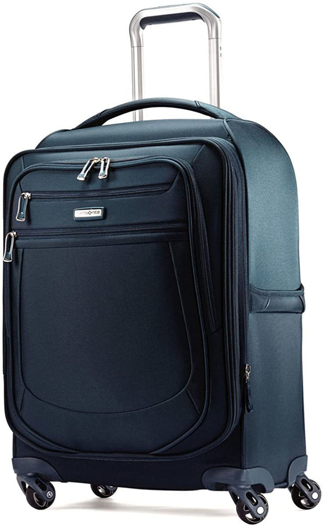 Samsonite-Samsonite Mightlight 2 Softside Spinner 21 Suitcases, Majolica Blue-bags-packs.com