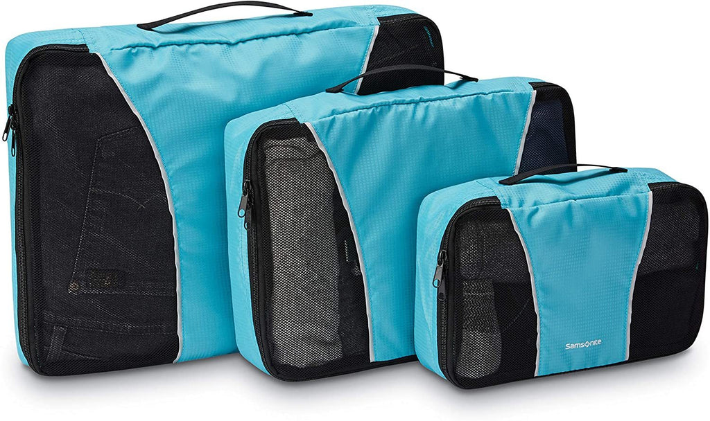 Samsonite-Samsonite Packing Cubes 3pc Set (Blue)-bags-packs.com