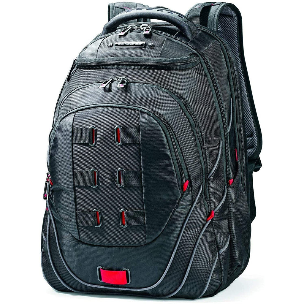 "Samsonite-Samsonite Tectonic PFT 17"" Laptop Backpack in Black-bags-packs.com"