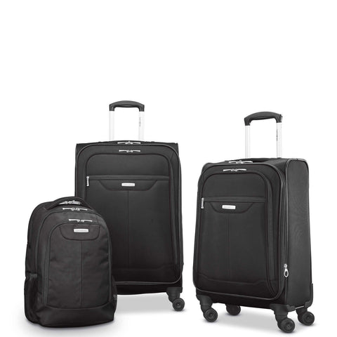 "SAMSONITE-SAMSONITE Tenacity 3 Piece Luggage Set (BP/21""/25"")-bags-packs.com"
