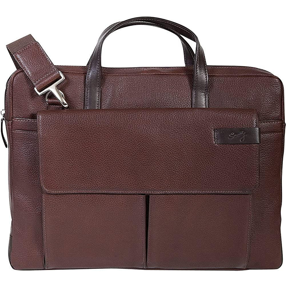 Scully-Scully Sierra Leather Top Zip Closure Workbag-bags-packs.com