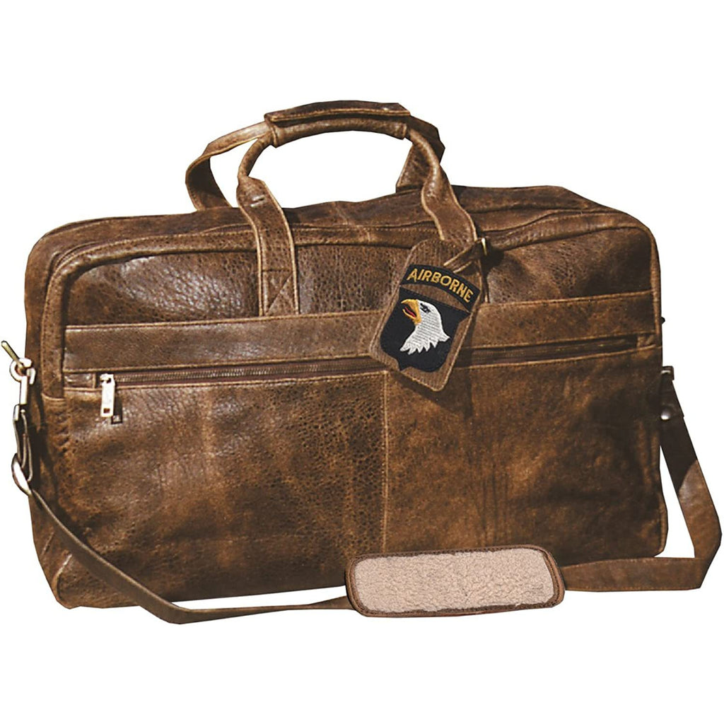 Scully-Scully Unisex Squadron Large Duffel w/ 81st Aero Squadron Luggage Tag-bags-packs.com