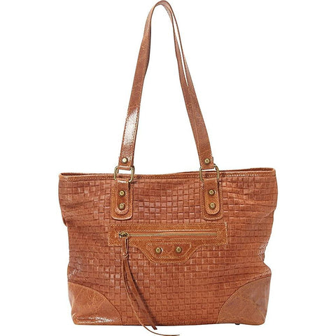 Sharo Leather Bags-Sharo Leather Bags Woven Italian Leather Tote-bags-packs.com
