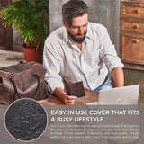 SHVIGEL-Soft Real Leather Passport Cover/Holder for Men and Women, 10 Colors-bags-packs.com