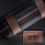 SOLO-Solo Brookfield Pebbled Leather Slim Brief-bags-packs.com