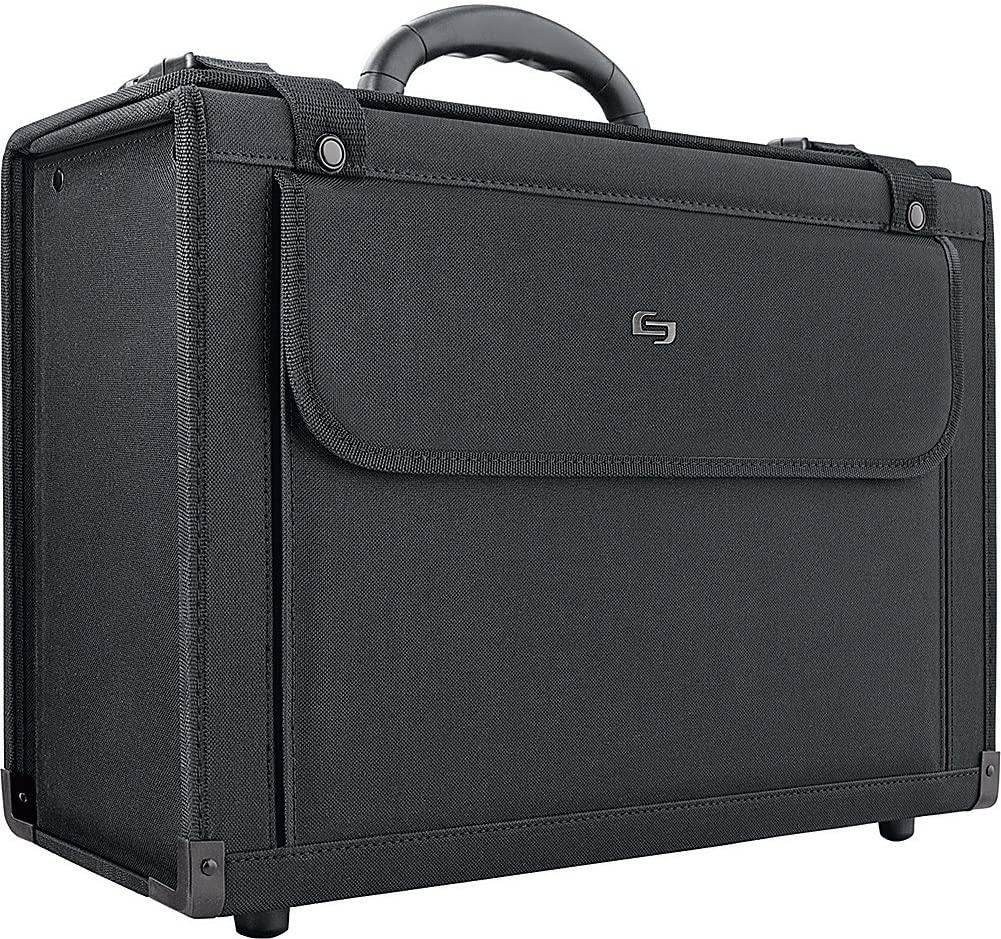 "SOLO-SOLO Classic 16"" Laptop Catalog Case (Black)-bags-packs.com"