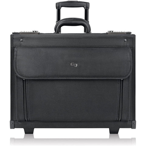 SOLO-SOLO Classic 17.3 Inch Rolling Catalog Case, Black-bags-packs.com