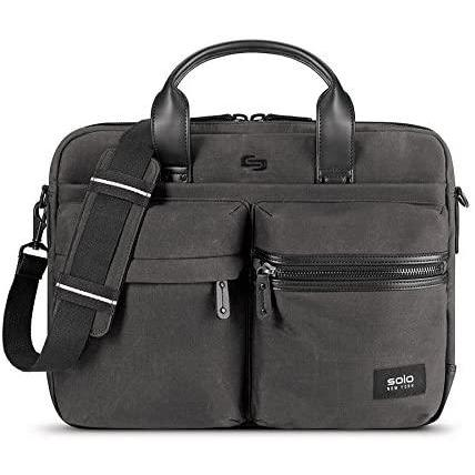 SOLO-Solo Hamish Briefcase, Ash-bags-packs.com
