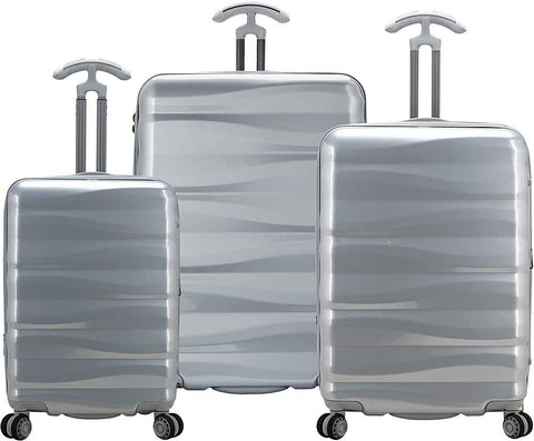 Traveler's Choice-Traveler's Choice Edinburgh 100% Polycarbonate 3-Piece Expandable Spinner-bags-packs.com