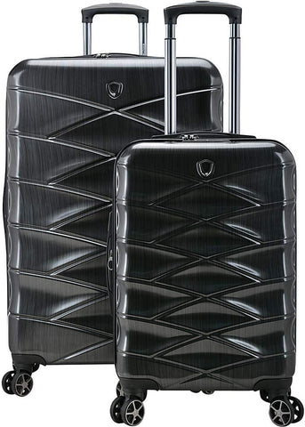 Traveler's Choice-Traveler's Choice Granville 2-Piece Hardside Spinner Luggage with TSA Lock-bags-packs.com