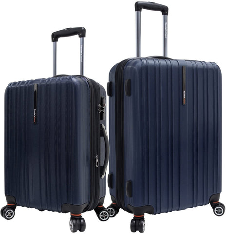 Traveler's Choice-Traveler's Choice Tasmania 100% Pure Polycarbonate 2-Piece Spinner Luggage-bags-packs.com