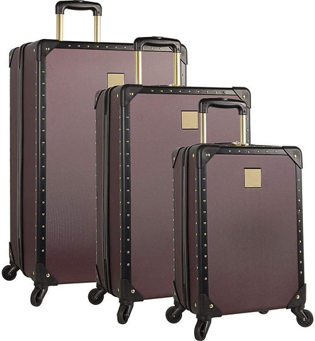 Vince Camuto Luggage-Vince Camuto Luggage Jania 3 Piece Luggage Set (Fig)-bags-packs.com
