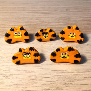 Ceramic Garf Brooch
