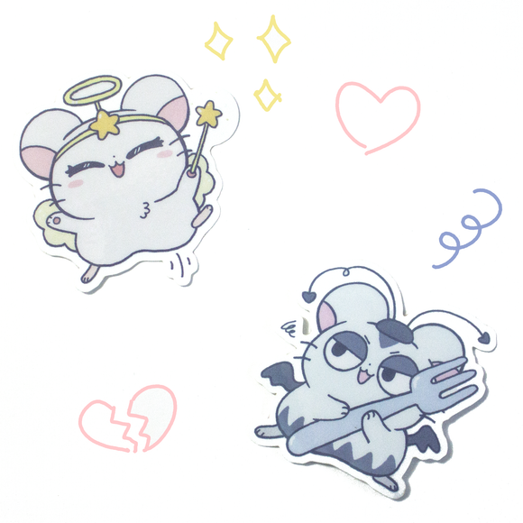HamHam Heartbreak Sticker Set