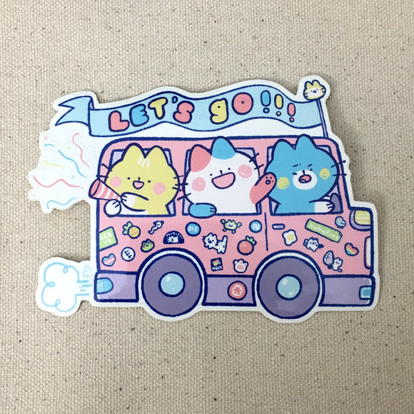 Let's Go! Sticker