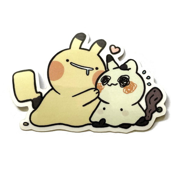 Pika Friends Sticker