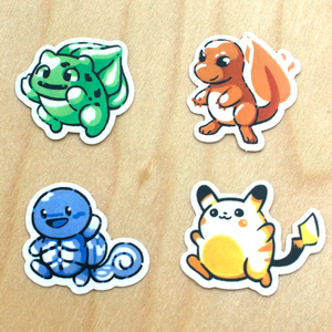 PKMN Mini Sticker Set