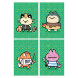 Poké Crossing Postcard Prints