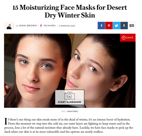 Style Caster + Girl Undiscovered Stumbled Across Paradise face mask