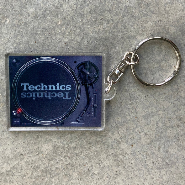 Technics 1200 keychain (black)