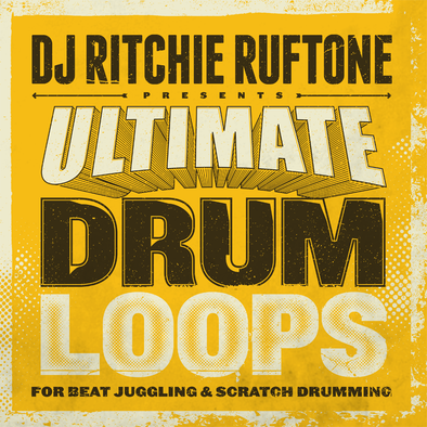 "ULTIMATE DRUM LOOPS 12"" - Ritchie Ruftone"