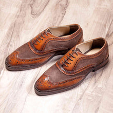 Load image into Gallery viewer, Wingtip Oxford Suede - Manwalk Australia