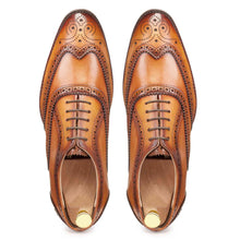 Load image into Gallery viewer, Wingtip Oxford Light tan - Manwalk Australia