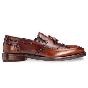 Slip-on Spectator in Brown - Manwalk Australia