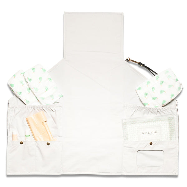 Nappy Change Clutch & Wipes Case set