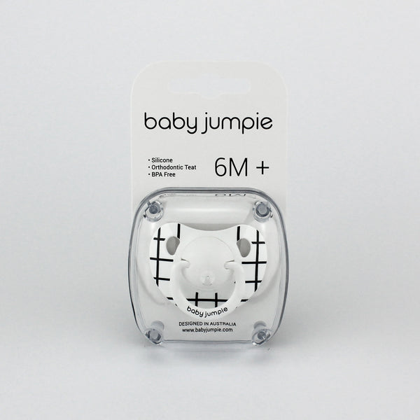 Baby Jumpie Pacifier GRID