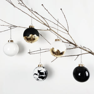 Personalised SMALL (8cm) Christmas Baubles