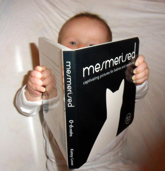 Mesmerised Black and White Baby Board Book