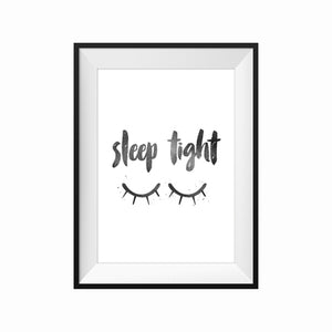 Print: SLEEP TIGHT