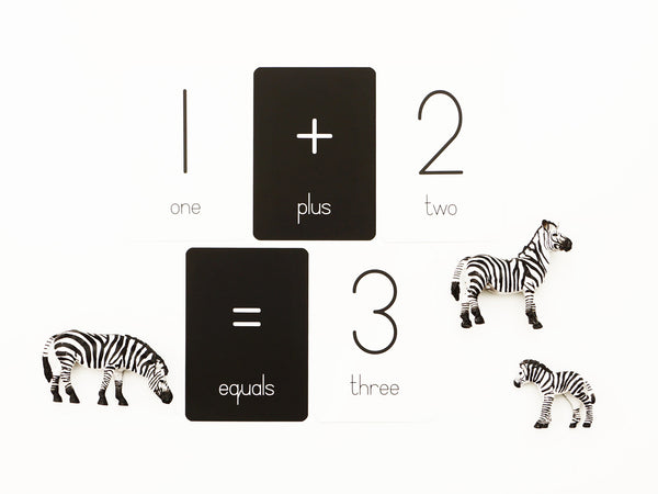 Numbers & Operations Flash Cards