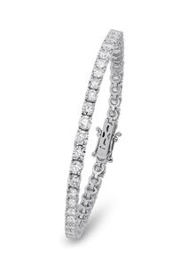 18K Diamond Classic Bracelet 5.69 CT FVS