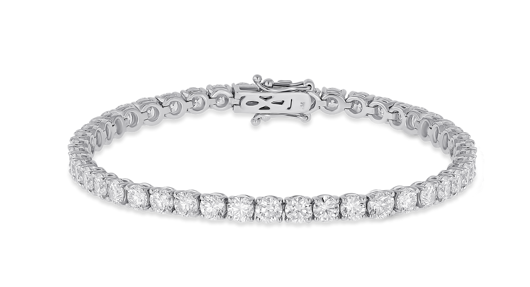 18K Diamond Classic Bracelet 7.27 CT FSI