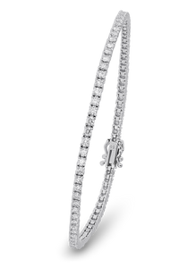 18K Diamond Classic Bracelet 3.22 CT FSI